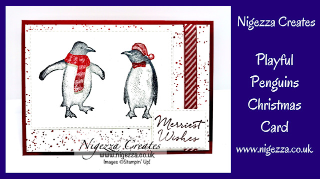 Nigezza Creates with Stampin' Up! Playful Penguins