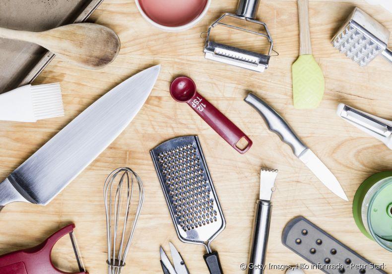 Quais os utensílios essenciais para se ter na cozinha?