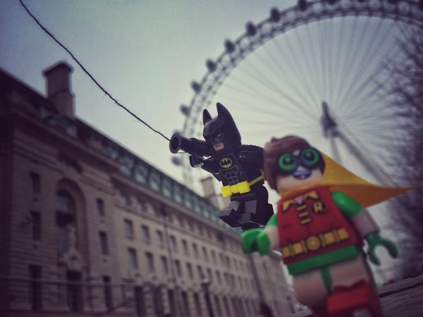 Batman at the London Eye