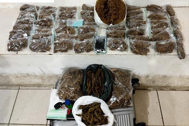 Polícia apreende maconha e ecstasy em Vitória da Conquista e Barra do Choça