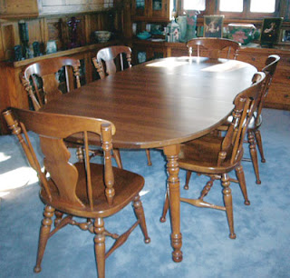 Heywood wakefield dining room set value