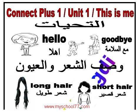 مذكرة Connect Plus للصف الأول الابتدائى الترم الأول2020 مستر عادل مجدى