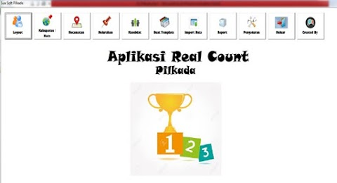 Software Real Count Pilkada