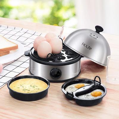 Egg Cooker, HoLife Stainless Steel Egg