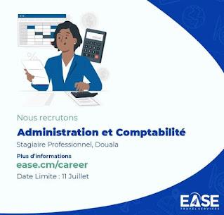 Offre de stage professionnel en administration et comptabilité