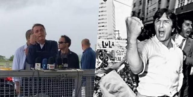 Bolsonaro dá uma banana para jornalistas em Brasília; assista ao vídeo