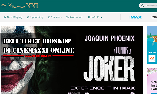 BELI Tiket Bioskop di CinemaXXI Online