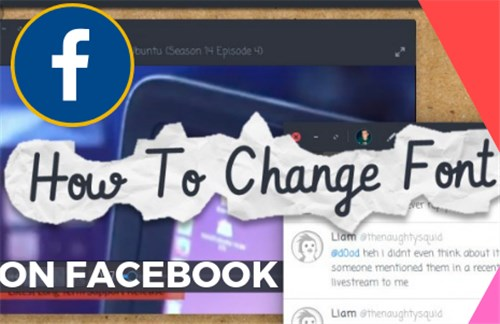 How Do You Change Font On Facebook