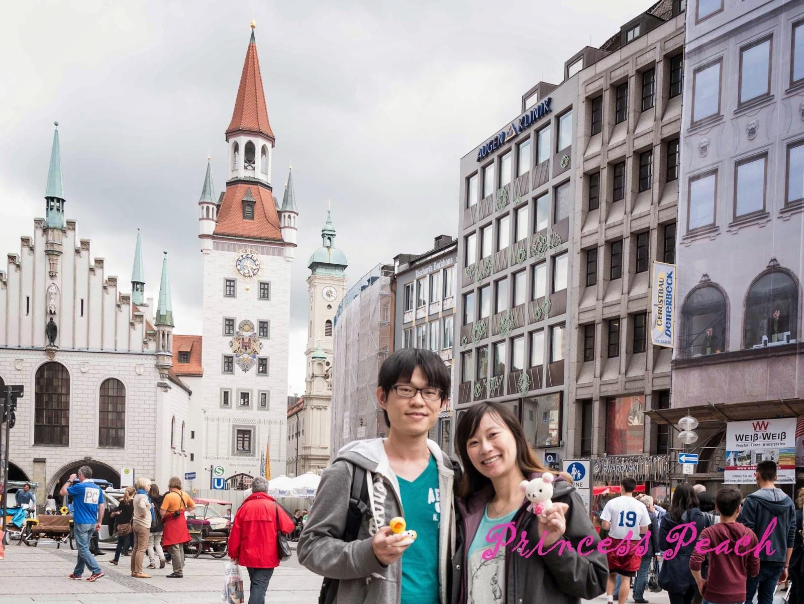 慕尼黑舊城區半日遊