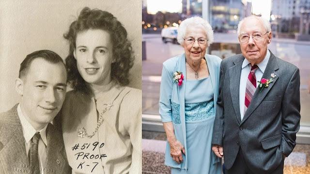 «Вместе и в смерти»: 100-летняя пара, прожившая вместе 76 лет, скончалась от коронавируса с разницей в 10 дней