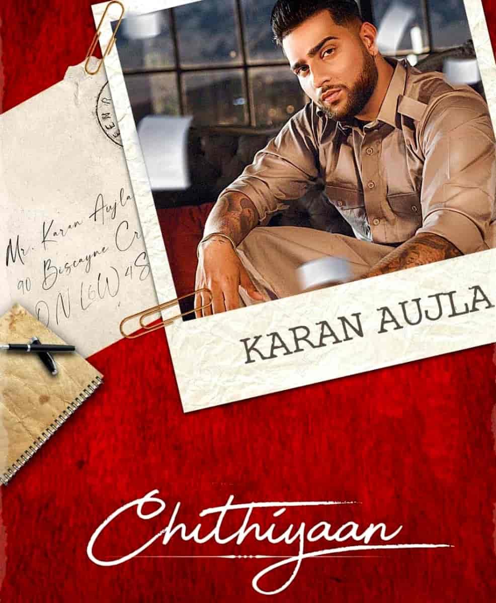 Chithiyaan Punjabi Song Image Features Karan Aujla and Tanu Grewal