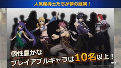 RPG de Fairy Tail ganha diversas informações durante o evento