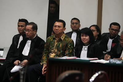 Usai Pilkada, Ahok dituntut 1 Tahun Penjara?