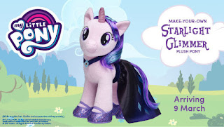 Starlight Glimmer Plush Coming March 9 to Australian Build-a-Bear