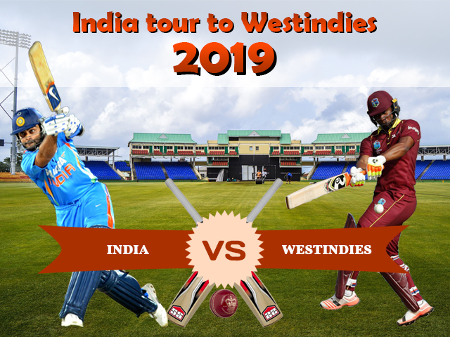 India Tour of West Indies 2019