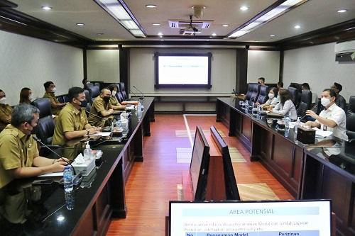 Lakukan Pemeriksaan DPMPTSP Medan, BPK Fokuskan Penanaman Modal dan Perizinan