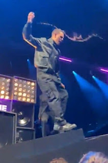 Rapper Slowthai hurls glass into crowd at NME Awards before ugly confrontation (video)