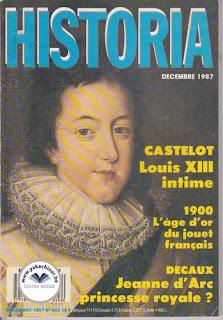 Revue Historia, 492 1987, 1900 l'age d'or du jouet