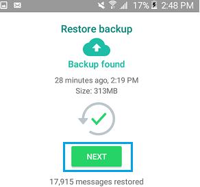 Cara Mengembalikan Chat WhatsApp Dari Kartu SD 10