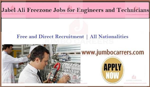 Dubai Freezone Company Jobs, Vacancies Jebel Ali Dubai,