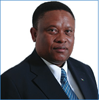 Tidligere fiskeriminister Bernard Esau