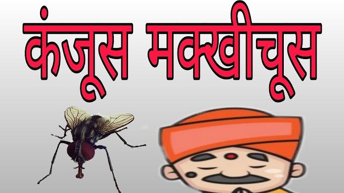कंजूस मक्खी चूस कहावत और कहानी | Kanjush Makkhi choosh kahavat Aur kahani -