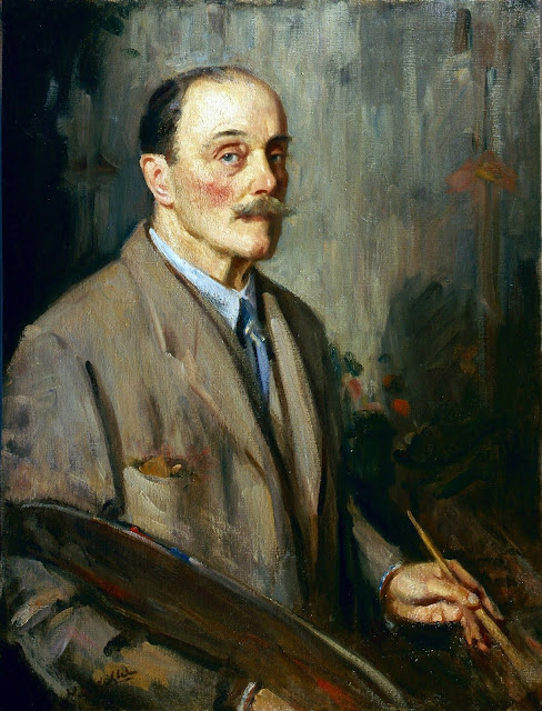 Wilfrid Gabriel de Glehn, International Art Gallery, Self Portrait, Art Gallery, Wilfrid Gabriel, Portraits of Painters, Fine arts, Self-Portraits, Painter Wilfrid Gabriel de Glehn