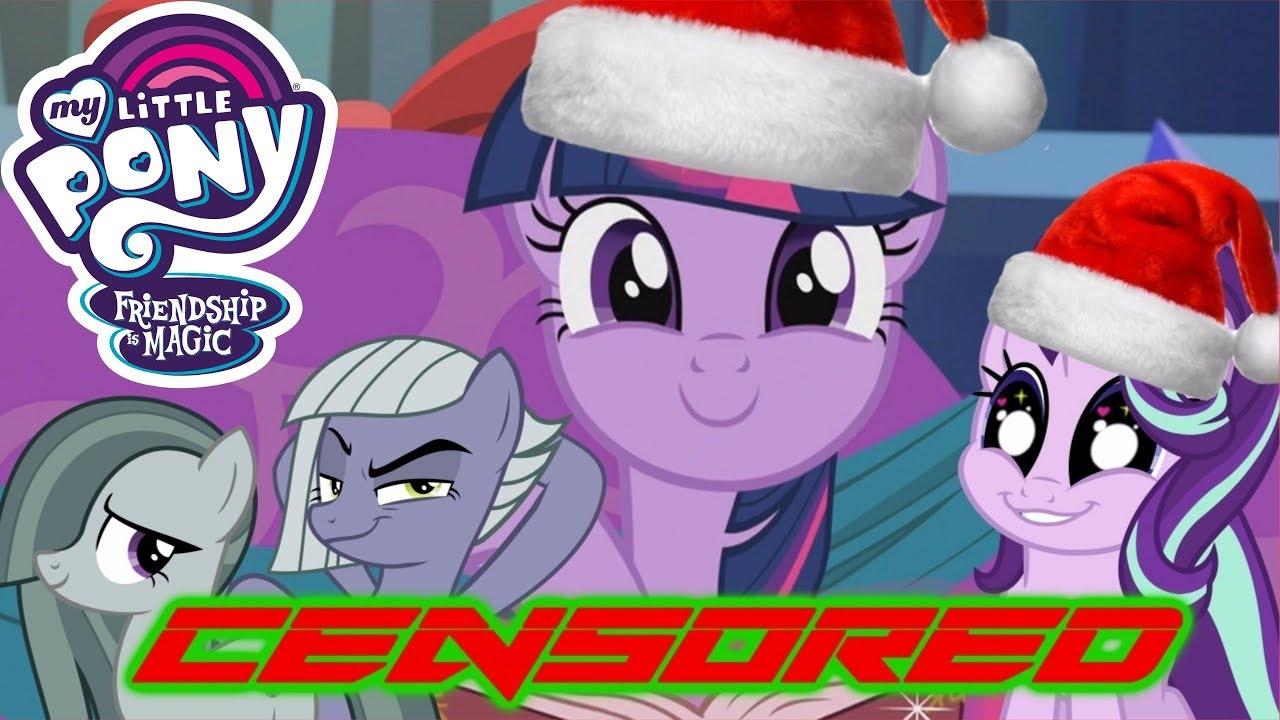 Mlp Christmas.Equestria Daily Mlp Stuff My Little Pony Christmas Censored