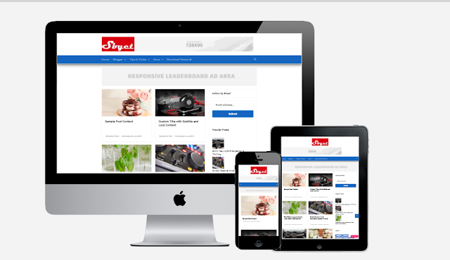 Shadow Byet Grid Layout Responsive Blogger Theme