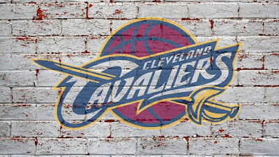 cleveland cavaliers logo on bricks hd wallpaper