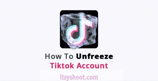 Unfreeze your tiktok account/TikTok account freeze problem.