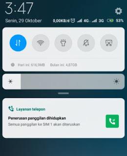 Cara Menghilangkan Penerusan Panggilan di Hp Xiaomi