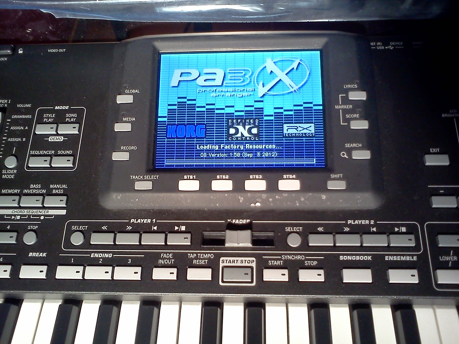 Download Set Korg pa1x