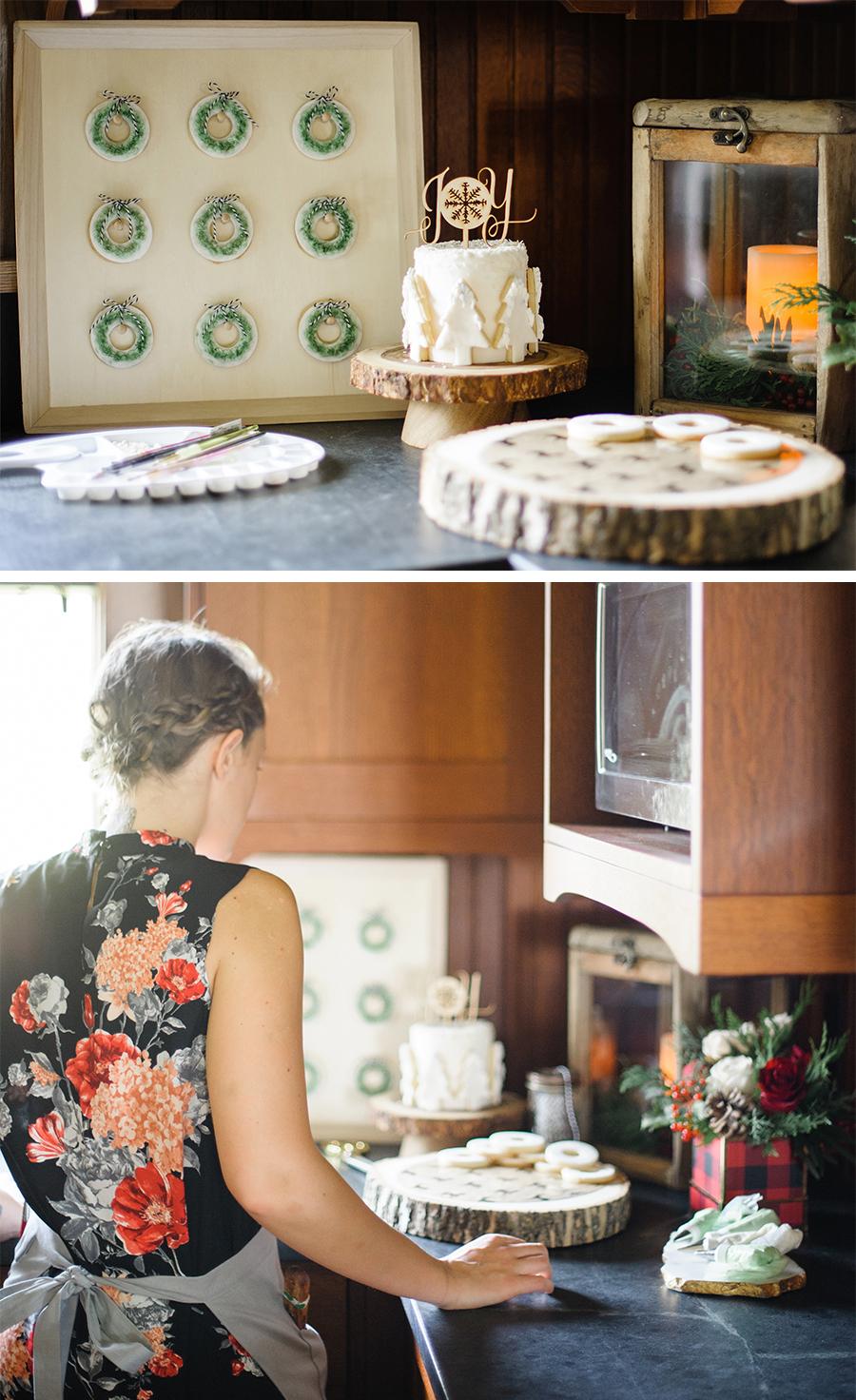 sweet DIY - display board for donuts and cookies | Lorrie Everitt Studio