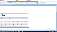 add table borders in ms word