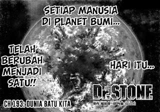 Update! Baca Manga Dr. Stone Chapter 193 Full Sub Indo