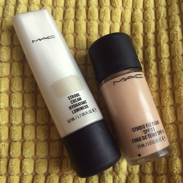 MAC Strobe Cream and Studio Fix