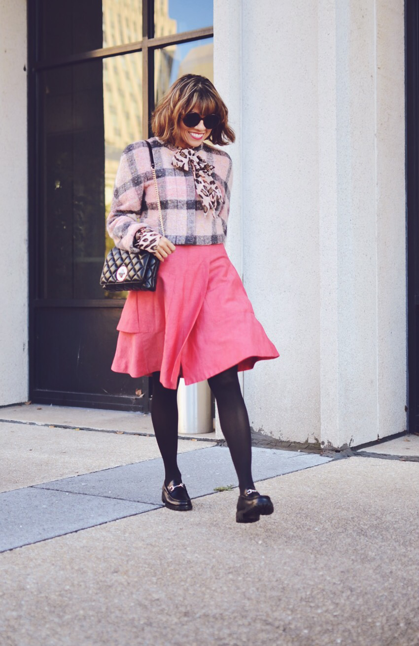 Pink Outfit Street Style