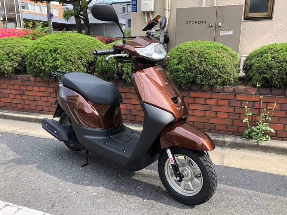 原付スクーターのレンタルバイク タクト50