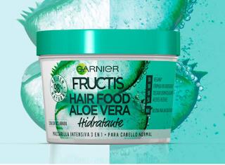Prueba Fructis Hair Food Aloe Vera