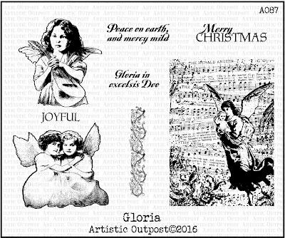 Artistic Outpost Stamp Set: Gloria