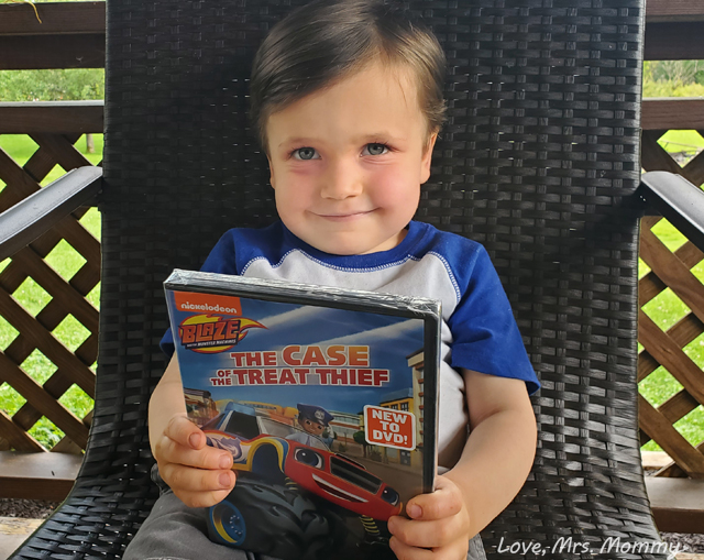 Blaze and the monster machines, blaze and the case of the treat thief, Preschool TV shows