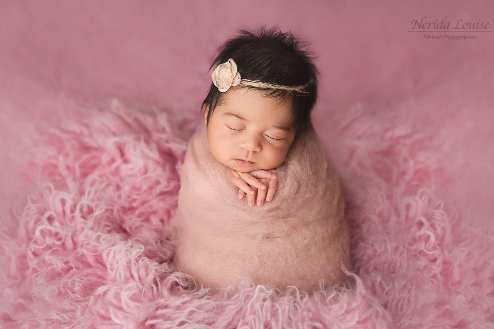 Felt and fur Newborn Props: Newborn Photography Tips for