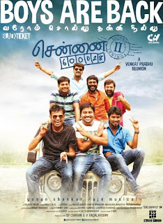 Chennai 600028 II 2016 Hindi Dubbed 720p WEBRip