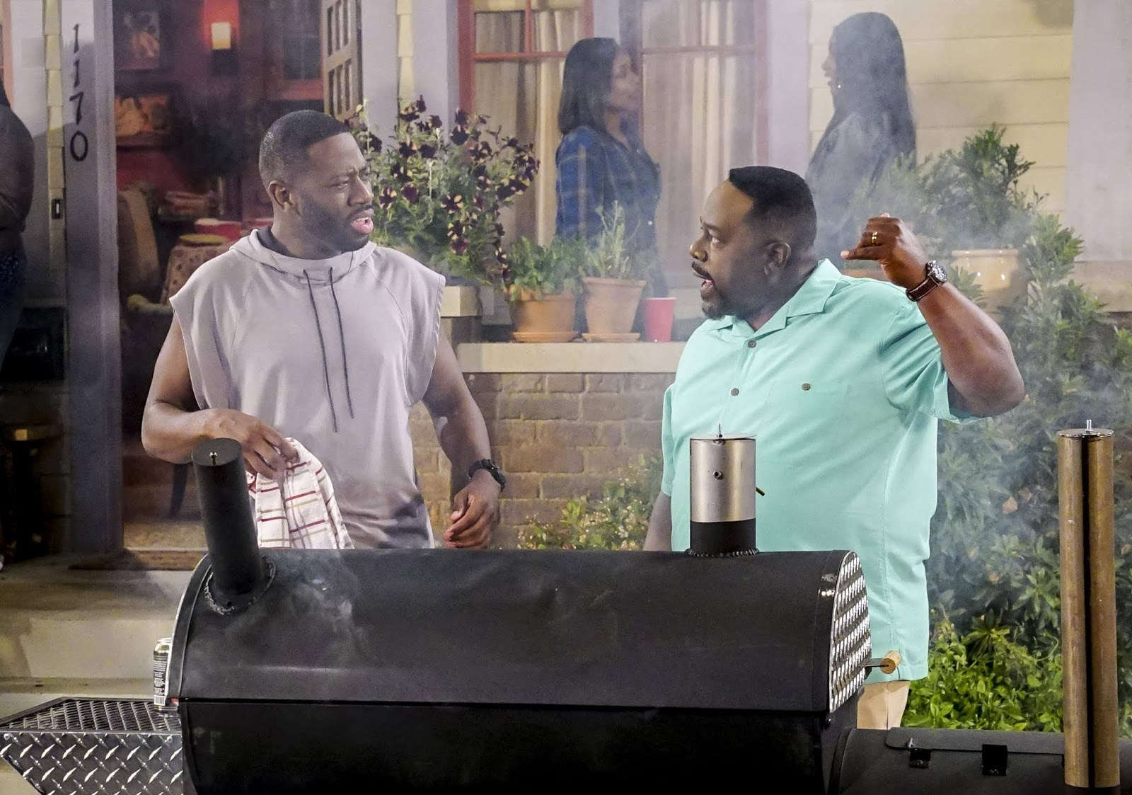 Fotograma de la nueva serie de CBS, The Neighborhood