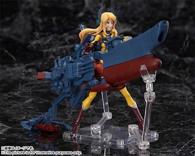 Yuki Mori YAMATO ARMOR X de Space Battleship Yamato 2202 - Tamashii Nations