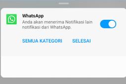 Cara Cepat Menghilangkan Notifikasi Whatsapp Web