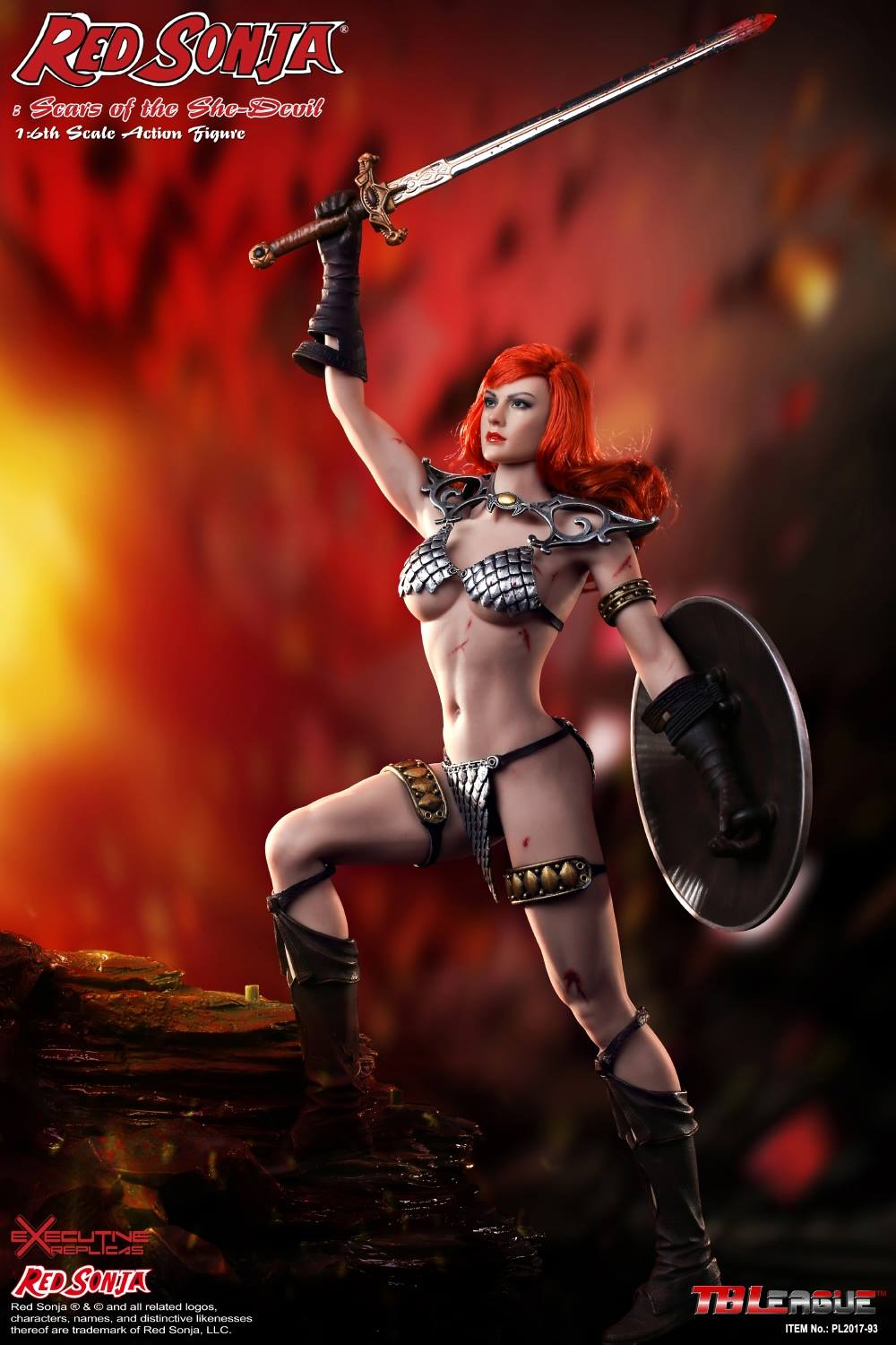 PHICEN - Red Sonja: Scars of the She-Devil  5