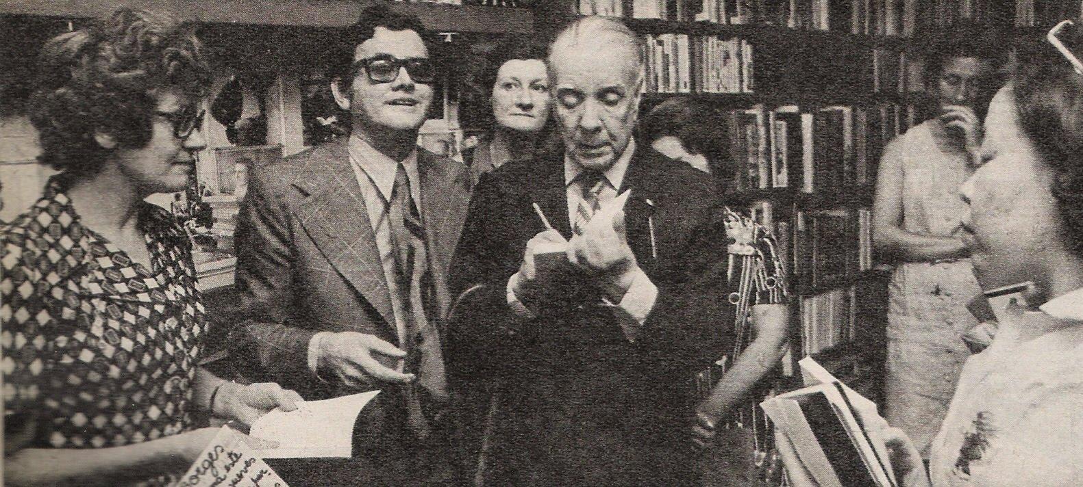 Borges todo el a o jorge luis borges baldanders for Borges el jardin
