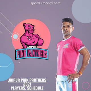 2021 Jaipur Pink Panthers List, Matches Schedule, Stats, Records